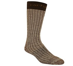 Men's Steel Toe Arctic Wool Boot Sock