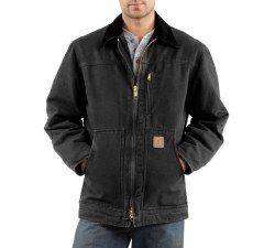 Men's Sandstone Ridge Coat/Sherpa Lined