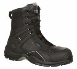 Men's 1st MED Carbon Fiber Toe Puncture-Resistant Side-Zip Waterproof Duty Boot