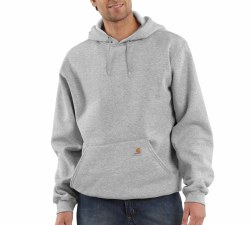 Men's Midweight Hooded Pullover Sweatshirt