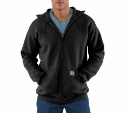 Men's Midweight Hooded Zip-Front Sweatshirt