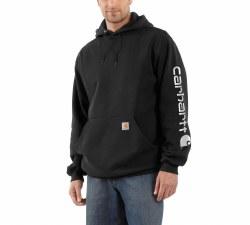 Men's Midweight Hooded Logo Sweatshirt