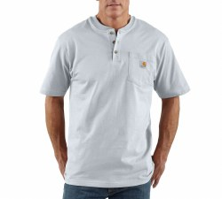 Men's Short-Sleeve Workwear Henley
