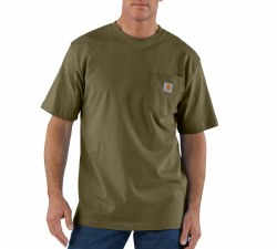 Men's Short-Sleeve Workwear Pocket T-Shirt
