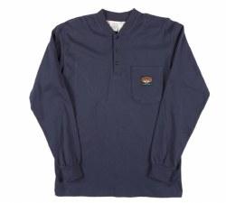 FR Navy Men's Henley T-Shirt