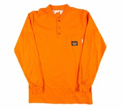 Men's Henley T-Shirt - OTF455/FR01010R