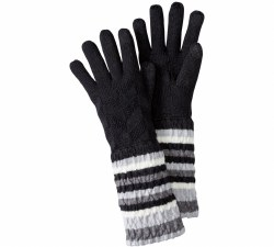 Women's Chevron Stripe Glove