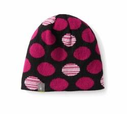 Kids' Reversible Wintersport Dot Hat