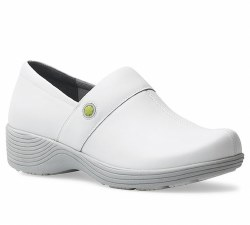 Women's Camellia White Leather