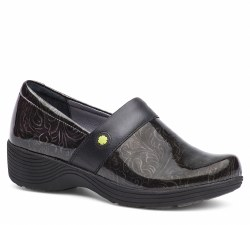 Women's Camellia Grey Tooled Patent