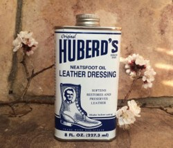 Huberd's Neatsfoot Oil Leather Dressing 8 oz