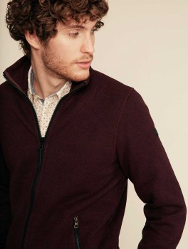 Aigle Vale Fleece Jacket M Sepia
