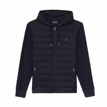 Eden Park Hooded Sweat Jacket XL Navy