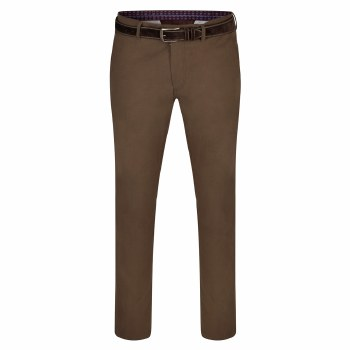 Magee Dungloe Millwashed Chinos 32S Tobacco