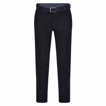 Magee Dungloe Washed Needlecord 32S Navy
