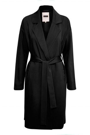 Part Two Ohanna Wrap Coat M Black