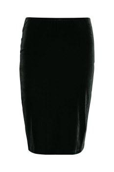 Part Two Naura Velour Skirt S Black