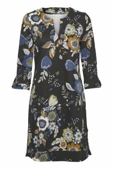 Part Two Lastina Floral Dress L Black