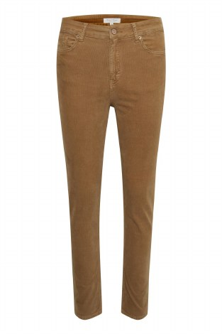 Part Two Hikkitase Cord Trousers 10 Tobacco