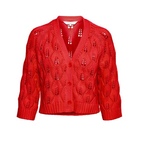 Part Two Sandy Cardigan M Red