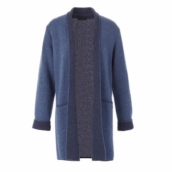 Riverwoods Weighty Cardigan L Blue
