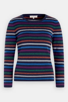Seasalt Revel Stripe Jumper 16 Mythology