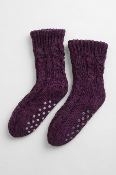 Seasalt Cottage Socks Grape