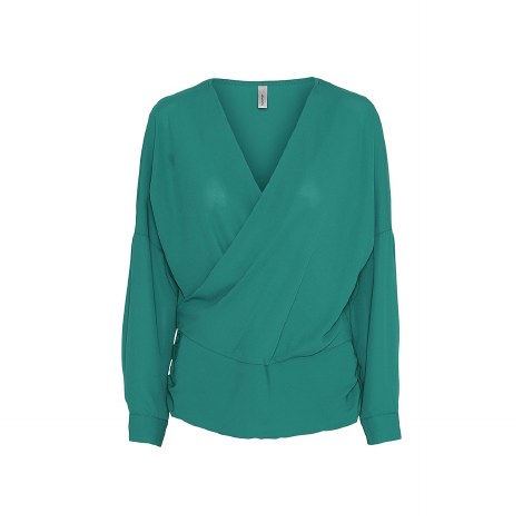 Soya Concept Wrap Blouse 12 Ivy Green