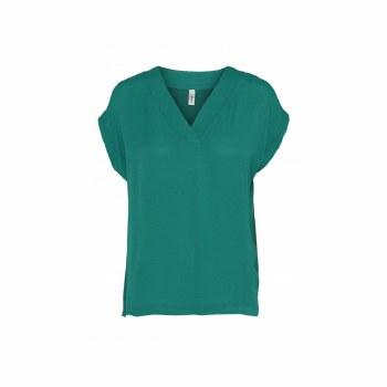 Soya Concept V Neck Top 14 Ivy Green