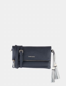 Zohara Heath clutch Navy