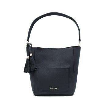 Zohara Open Bucket Bag Navy
