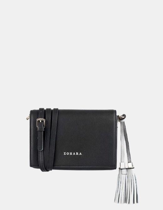 Zohara Royal Crossbody Bag Black