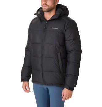 Columbia Pike Lake Hooded Jacket M Black