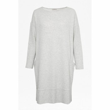 Great Plains Marie Relaxed Dress 14 Grey