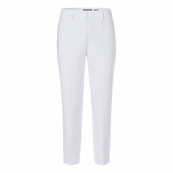 Olsen Smart Crop Trousers 10 White