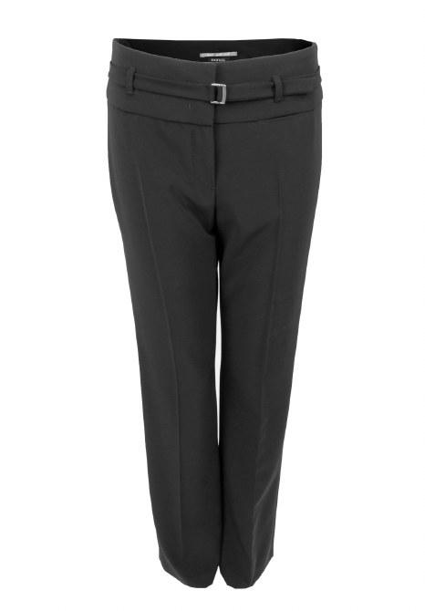 Bianca Parigi Tie Belt Trousers 10 Black