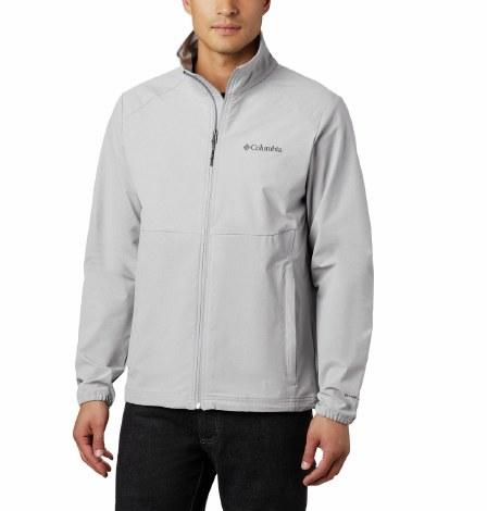 Columbia Heather Canyon Fleece Jacket M Grey