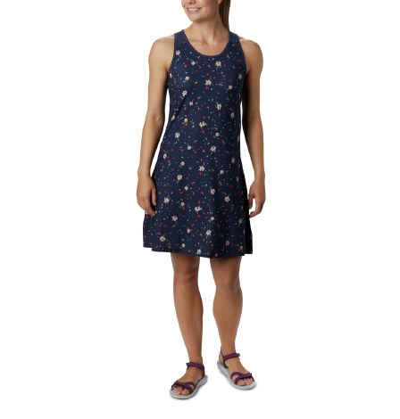Columbia Saturday Trail Print Dress S Nocturnal Bath