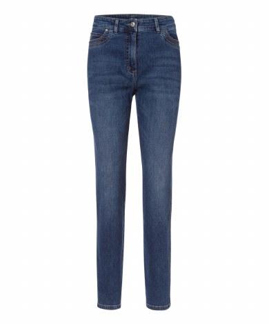 Olsen Mona Slim Jeans 16 Blue Denim