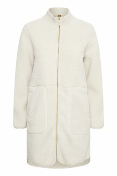 Part Two Aia Teddy Coat XS Moonbeam