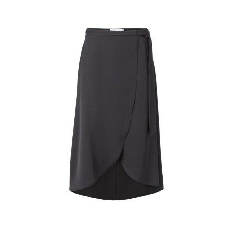 Yaya Satin Wrap Skirt 10