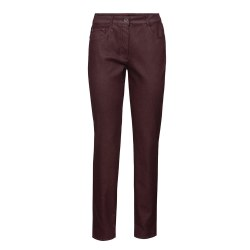 Bianca Shape Coated Jeans 10 322-Wine