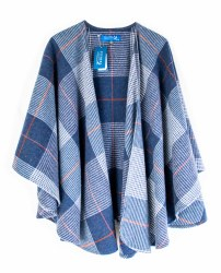 Fishers Cape  Grey Check-610