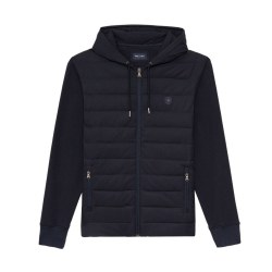 Eden Park Hooded Sweat Jacket XL Navy