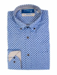 Fishers Plain Button Down Shirt 3XL Blue