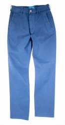 Fishers Chino Trousers 32R Navy