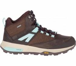 Merrel Zion Mid GTX Boot 4   Seal Brown