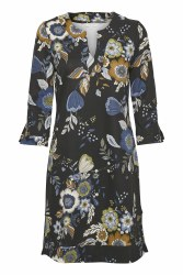 Part Two Lastina Floral Dress S Black