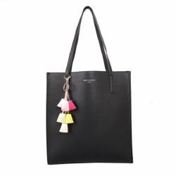 Red Cuckoo Shopper Bag One Size Black