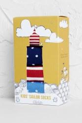 Seasalt Kids Selection Box Of Socks Full Sun